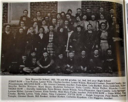 New Maysville School 1925
