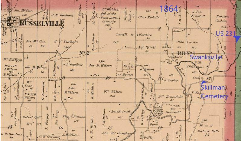 1864 Swanksville