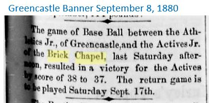 Greencastle Banner Sept 8, 1880