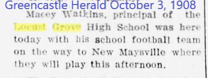 Greencastle Herald 3 Oct 1908