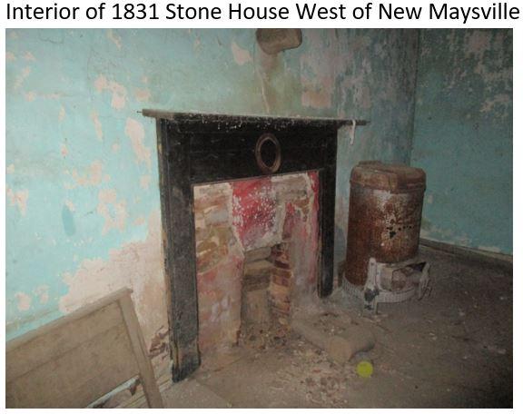 1831 Stone House Interior