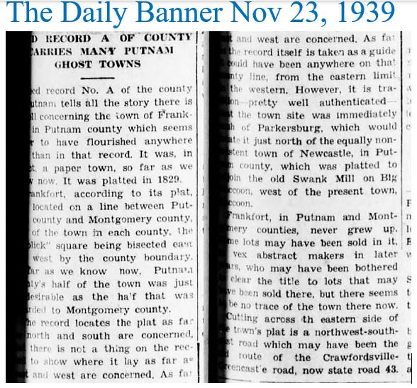 The Daily Banner Nov 23 1939