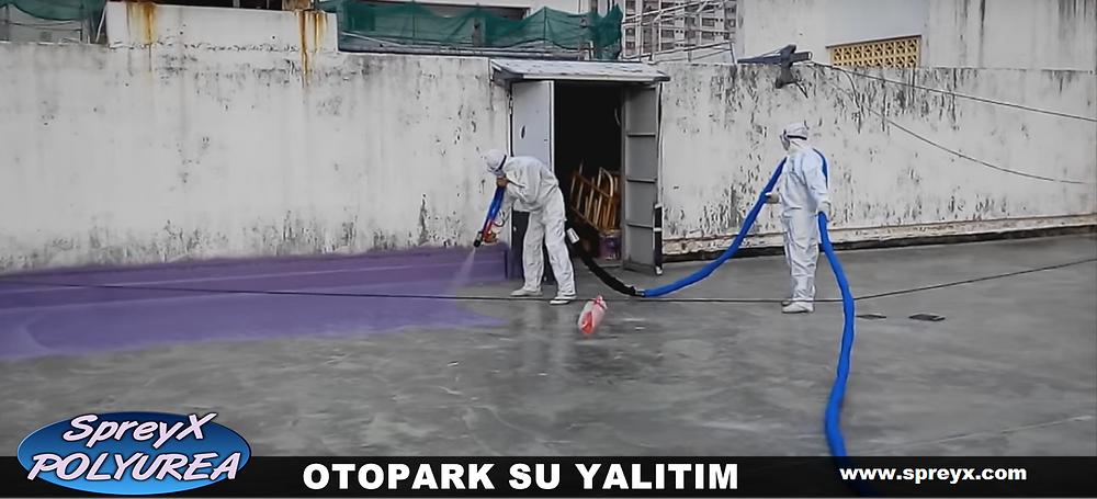 OTOPARK ZEMİN KAPLAMA