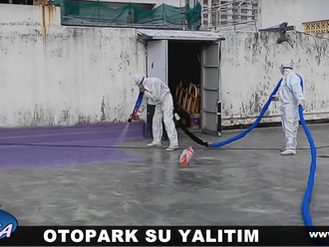 Otopark Zemin Su Yalıtım - Polyurea Kaplama
