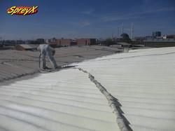 Çatı Poliüretan Kaplama