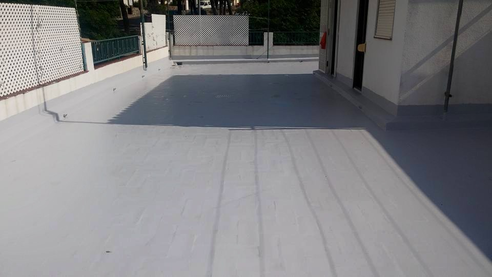 polyurea teras