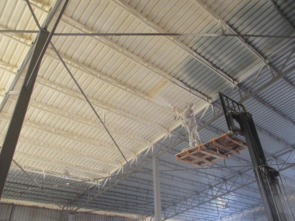 fabrika çatı ısı yalıtım