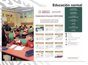 Calendario Julio Y Agosto 2020.Sep Presenta Calendario Escolar 2019 2020