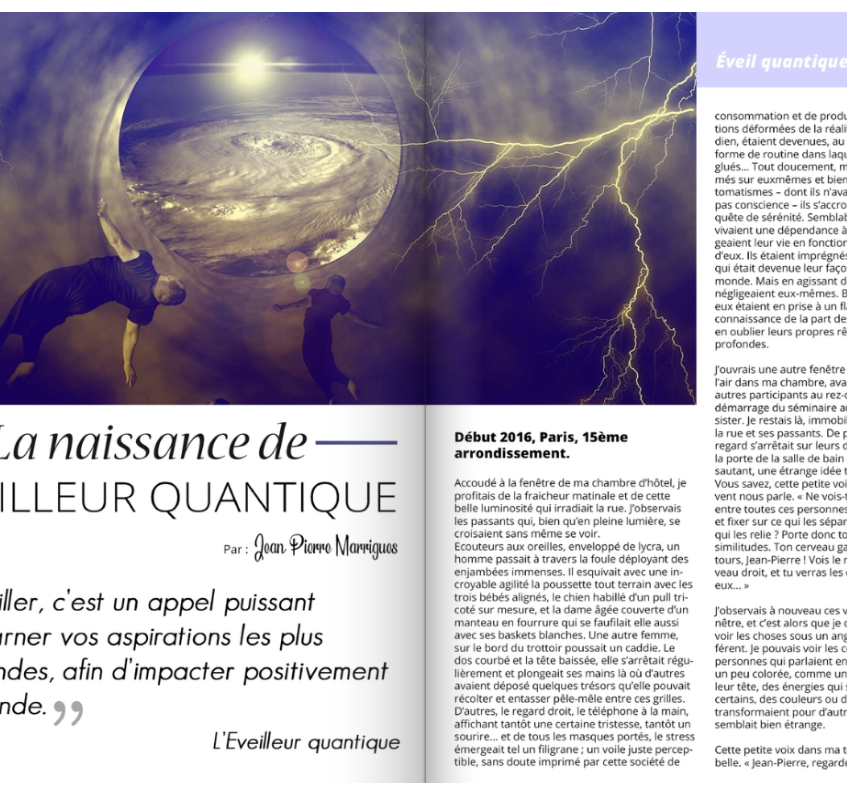 La Naissance de l'Eveilleur Quantique p1