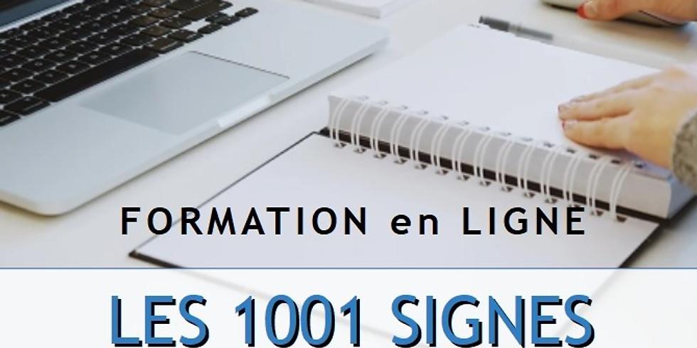 FORMATION EN LIGNE / 20 JUIN 2020 / LES 1001 SIGNES - SYNCHRONICITÉS