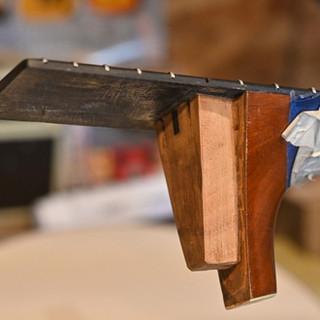Carve new dovetail
