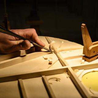 Carving bracing
