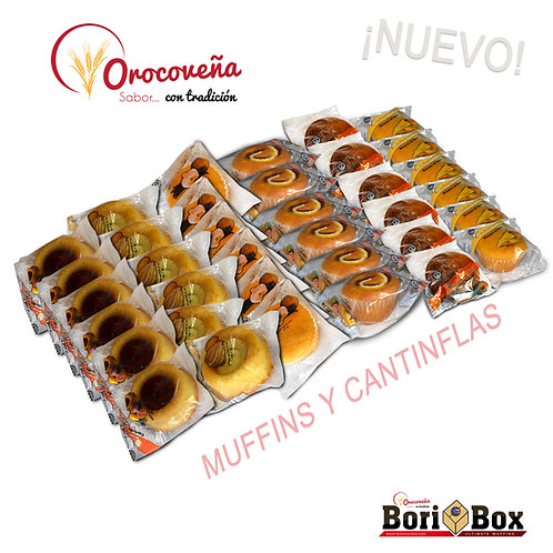 Boribox Ultimate Muffins Surtidos