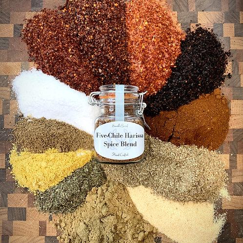 Five-Chile Harissa Spice Blend