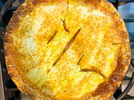 Sunshine Peach Pie