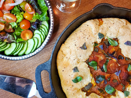 Skillet Heirloom Tomato Tart