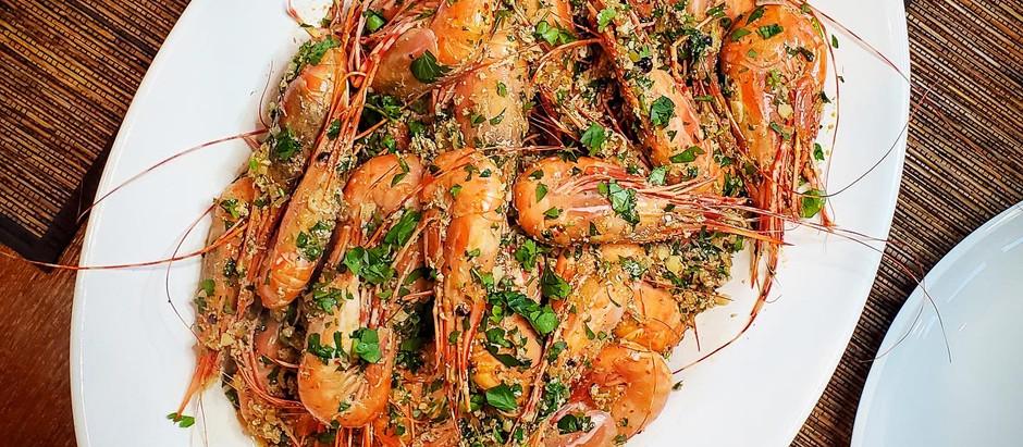 Harissa Shrimp Scampi