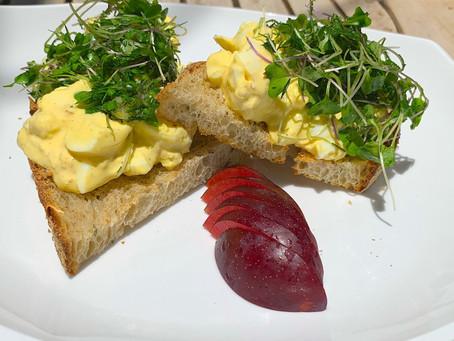 Not-Your-Grandma's Egg Salad Sandwich