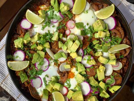 Chorizo Chilaquiles and Eggs Two Ways