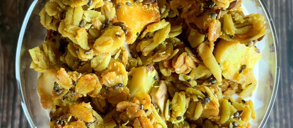 Tropical Turmeric Granola