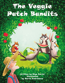 The Veggie Patch Bandits Cover KDP eBook
