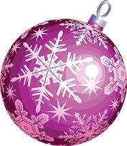 Christmas Purple Ornament.png
