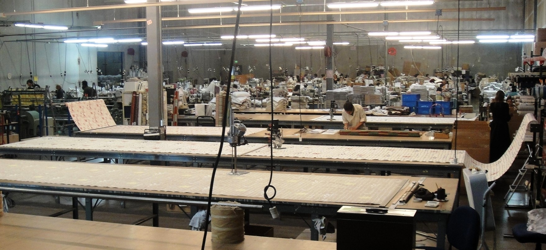 USA fabric cutting tables