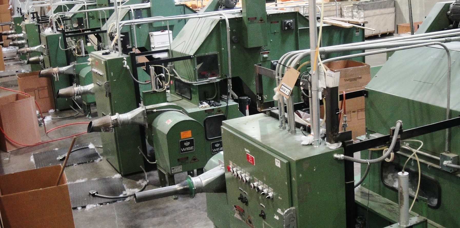 Our USA polyester blowing machines