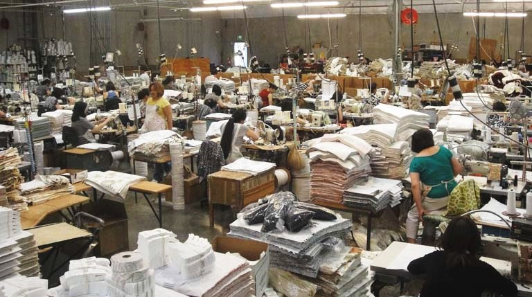USA sewing stations