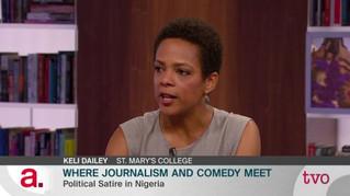 Where Journalism & Comedy Meet