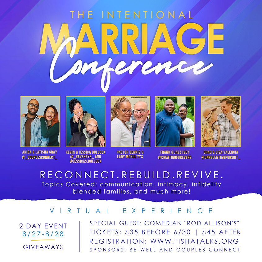 The Intentional Marriage Conference