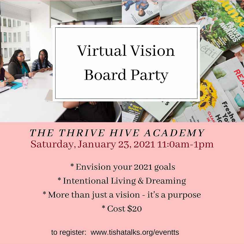 2021 Vision Board Party