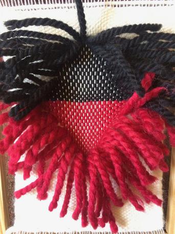 Wool yarn 3D weaving