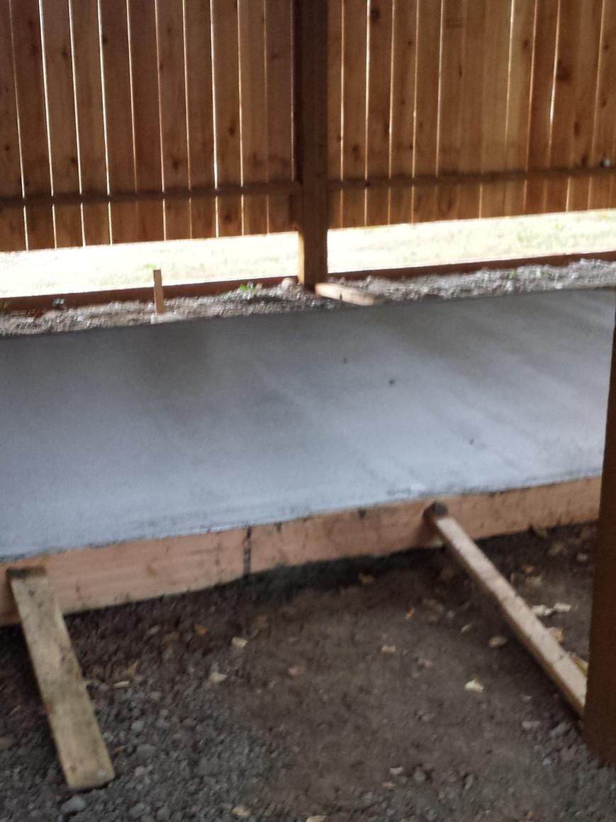 The kiln footprint