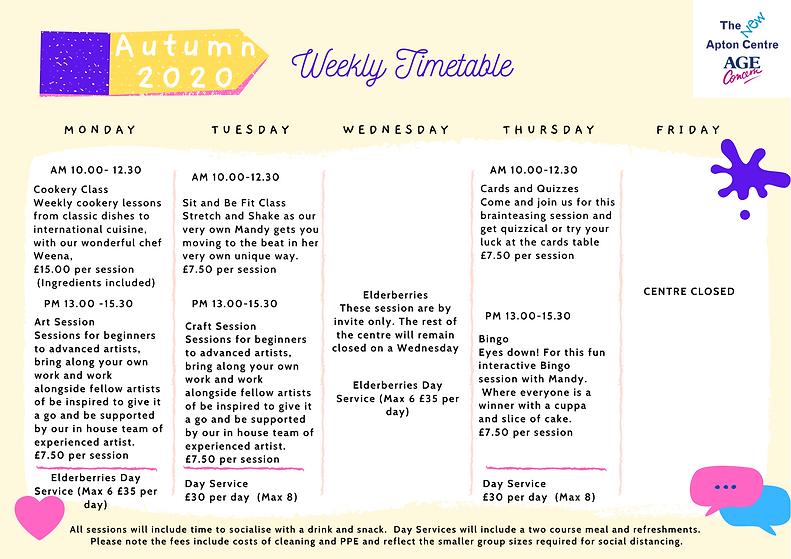 Autumn 2020 timetable Age Concern  (1).p