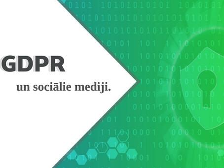 GDPR un Sociālie mediji