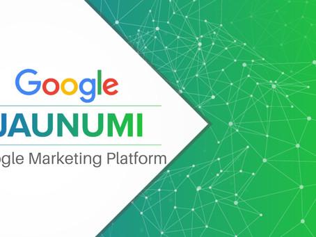 Jaunā Google Mārketinga Platforma