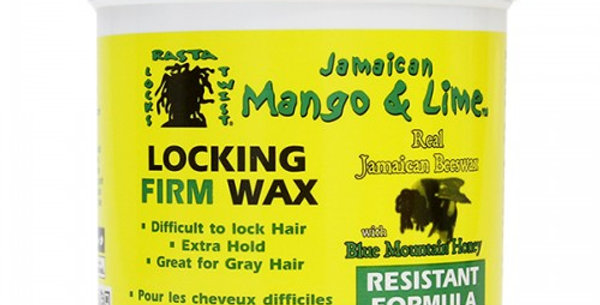 Jamaican Mango & Lime Locking Firm Wax 453g