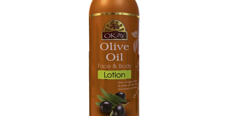 Okay Olive Oil Face & Body Lotion 473ml