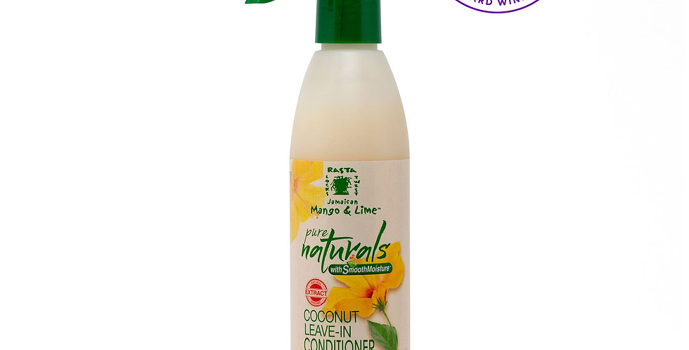 Pure Naturals w/ SmoothMoisture® Coconut Leave-In Conditioner & Detangler 237ml