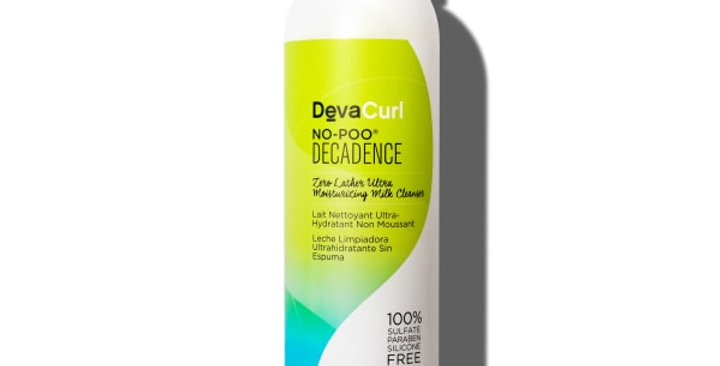 DevaCurl No-Poo Decadence Zero Lather Ultra Moisturizing Milk Cleanser, 355ml