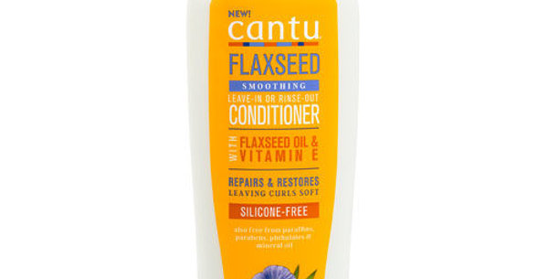 cantu Flaxseed Smoothing Leave-In or Rinse Out Conditioner 13.5fl/oz