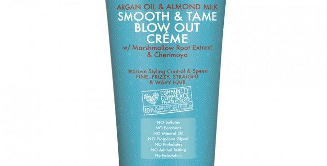 SheaMoisture Argan oil & Almond Milk smooth &Tame Blow out Creme