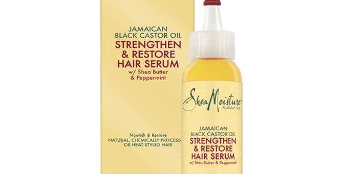 SheaMoisture Jamaican Black Castor Oil Strengthen & Restore Hair Serum- 2 oz