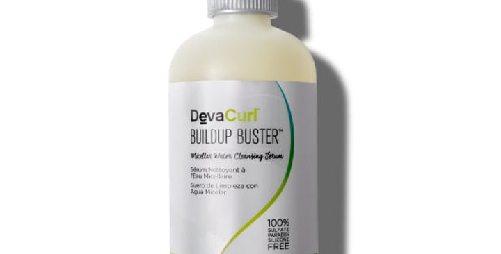 DevaCurl Buildup Buster, Micellar Water Cleansing Serum, 8 oz