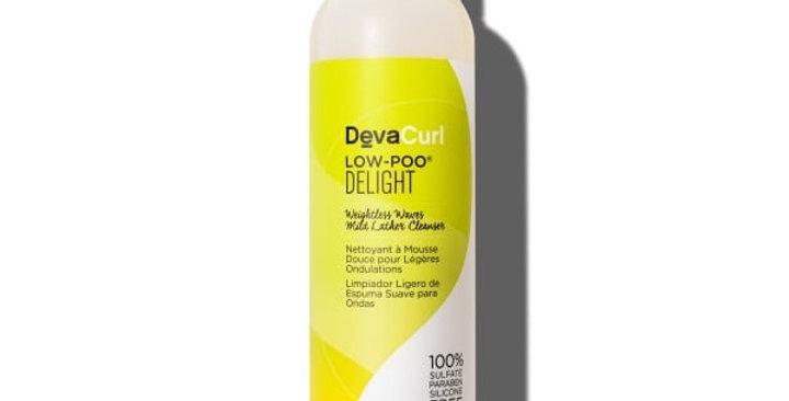 DevaCurl Low-Poo Delight Mild Lather Cleanser, 355ml