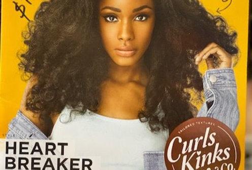 Synthetic hair wigs-Heart breaker