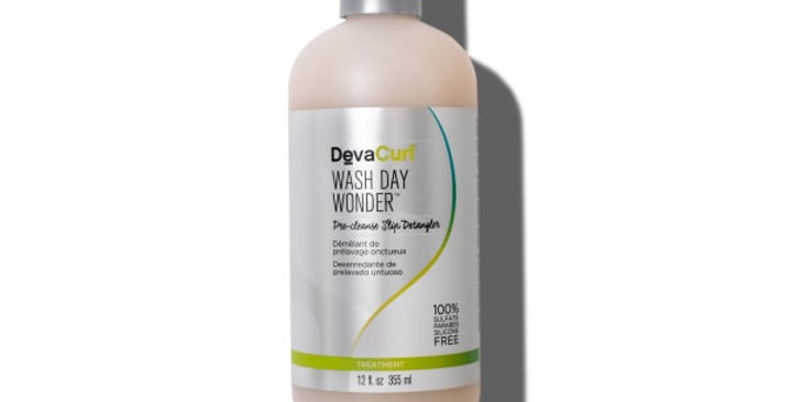 DevaCurl Wash Day Wonder, Pre-Cleanse Slip Detangler 355ml