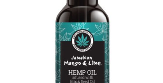 Hemp Seed Oil infused with Black Seed Oil 4oz