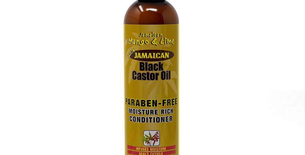 Black Castor Oil Paraben-Free Moisture Rich Conditioner 237ml
